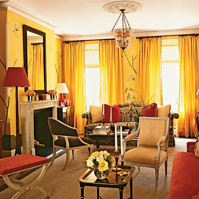 home decor and design exploring wall color the warm tones yellow gold red living also schemes country chic rooms decorating rh pinterest