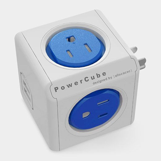30 Fun & Useful Gadgets Under $30 #refinery29  http://www.refinery29.com/best-tech-gadgets#slide-15  The PowerCube is a tiny-apartment dweller's answer to the large, bulky power strip. It gives you four extra outlets as well as a USB port — in one little cube.Allocacoc PowerCube, $20, available on MOMAstore.org. ...