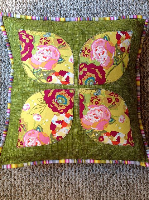 Dogwood Pillow. #pennysampler | Flickr - Photo Sharing!