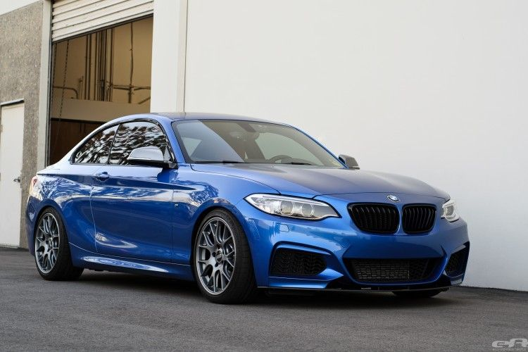 Gorgeous Estoril Blue Bmw M235i Gets Transformed Into A Beast Estoril Blue Blue Bmw Bmw