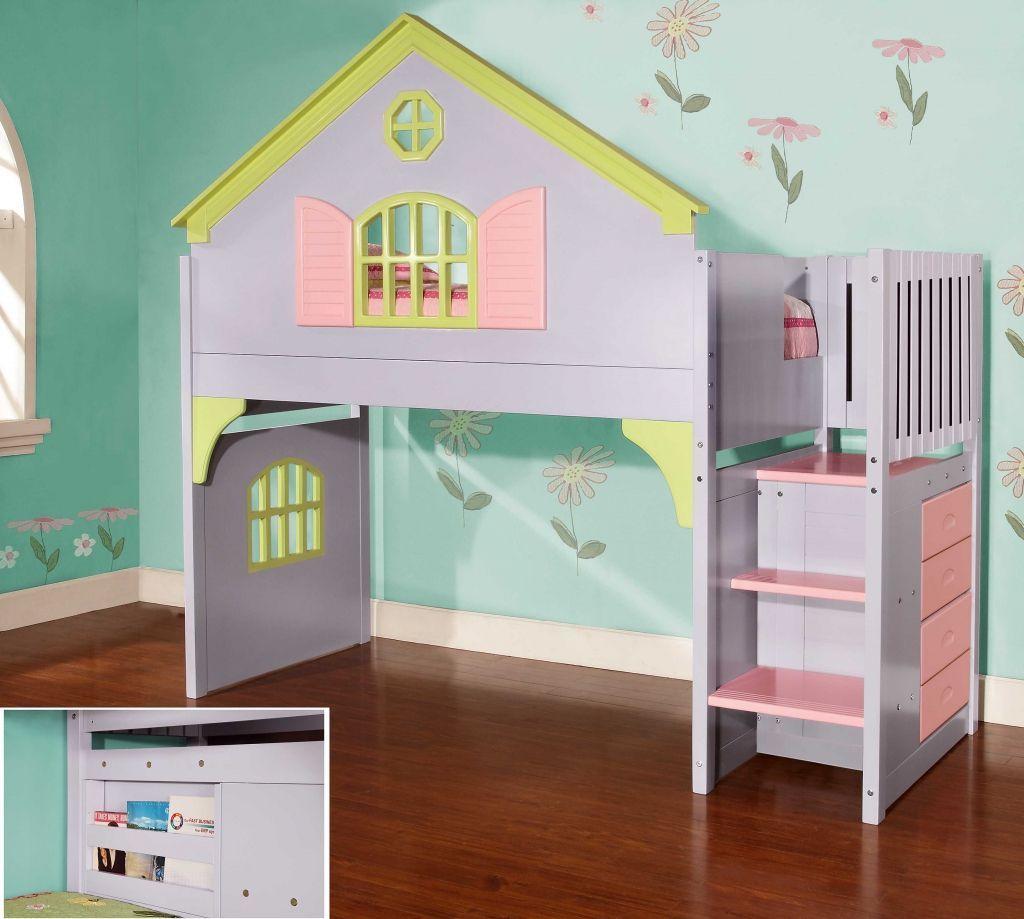 Modern loft bed ideas  dolls house bedroom furniture  interior paint colors for bedroom