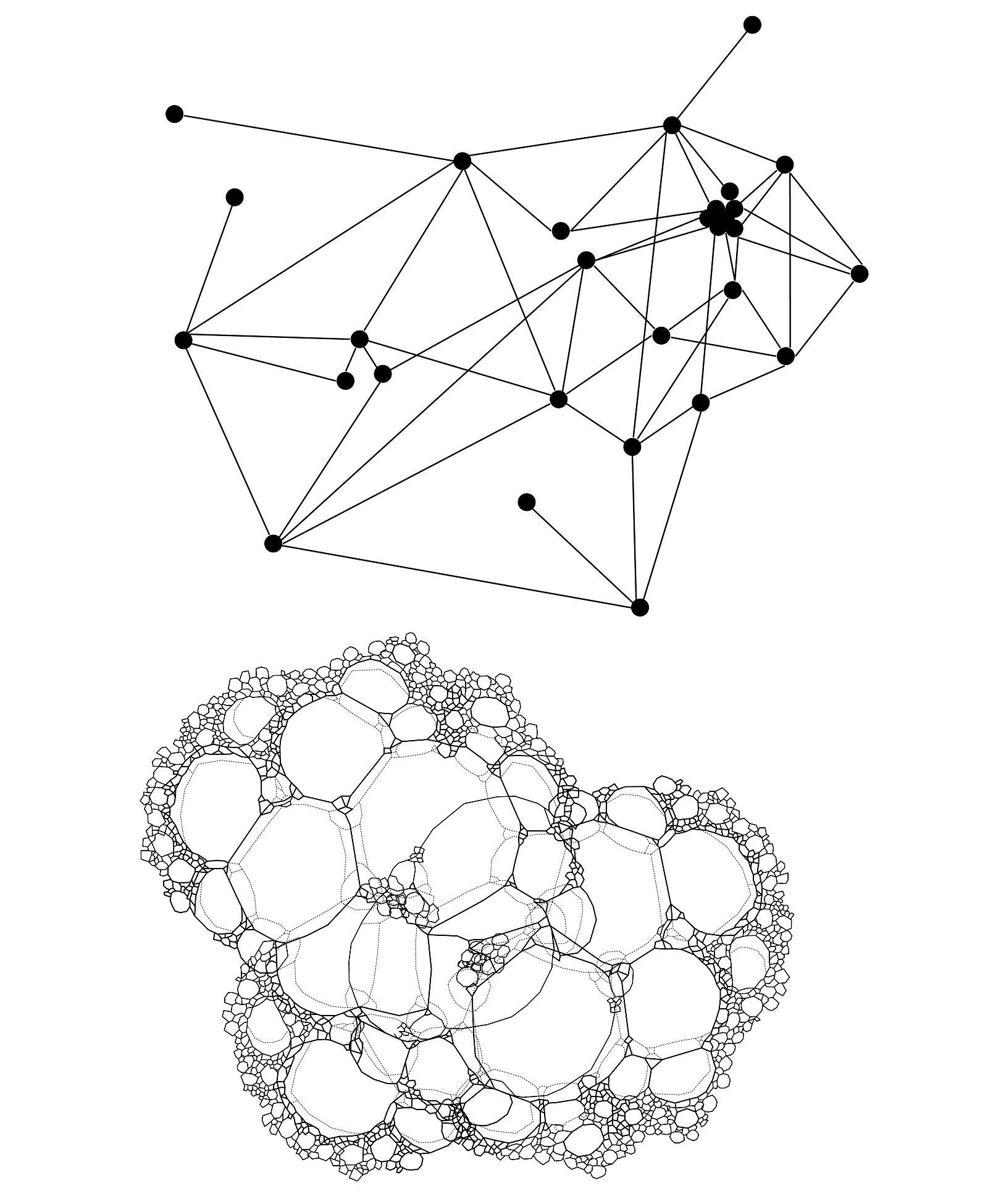 Deleuze Rhizome Network Top Versus Sloterdijk S Foam