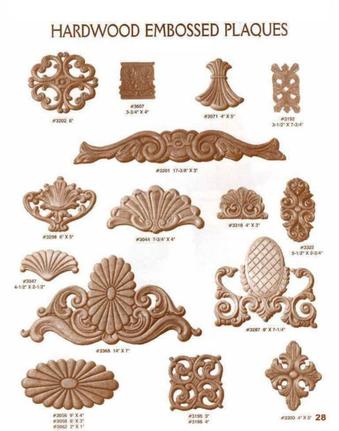 Decorative wood mouldings google search crown molding for Decorative millwork accents
