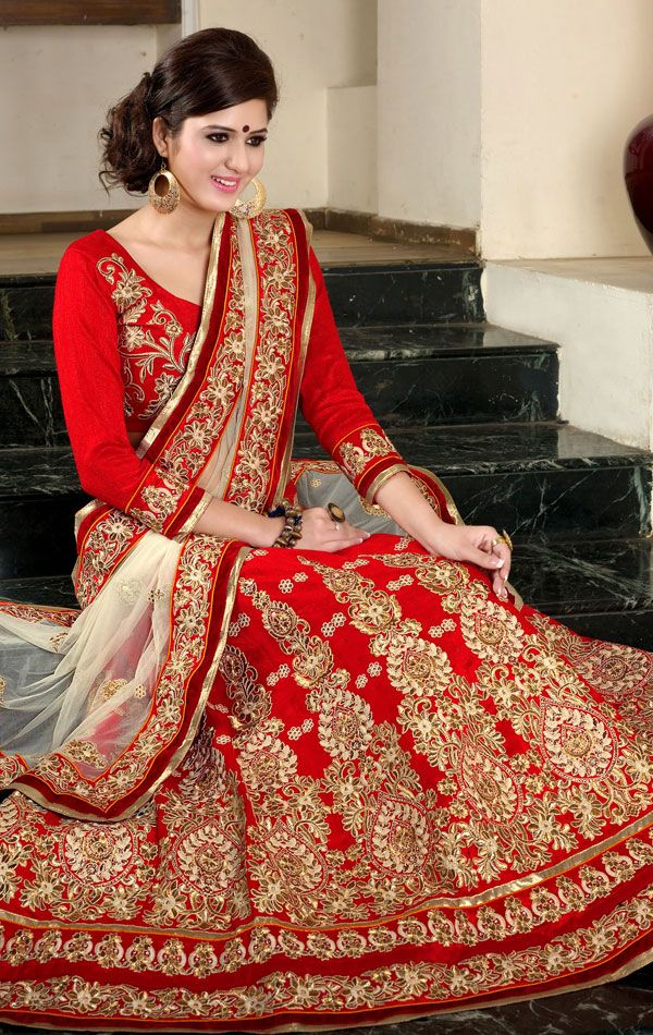 Indian Saree Designs Designer Lehenga Choli 2015