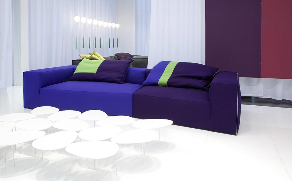 Architettura Sofa or Sectional, Contemporary Living Room Design at Cassoni.com
