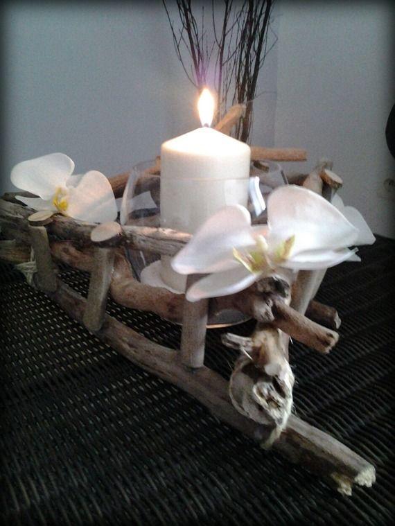 centre de table en bois flotté - recherche google | centre de