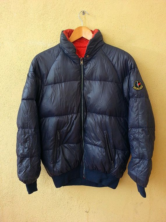 vintage authentic moncler asics puffer ski wear by captainstore11 rh pinterest com