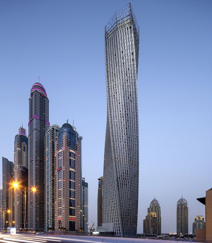 Charming Cayan Tower, Dubai, UAE (73, 307, 1,008) Photo Gallery