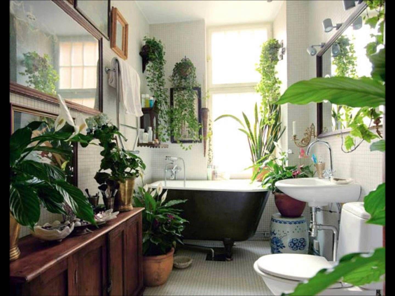 bathroom with plants | Amazing Baths | Pinterest | Plants, Interiors ...