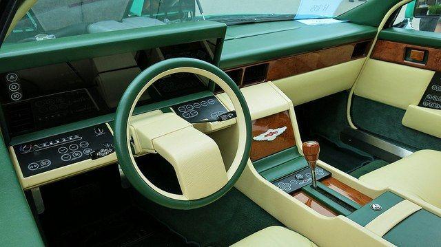 1982 Aston Martin Lagonda interior