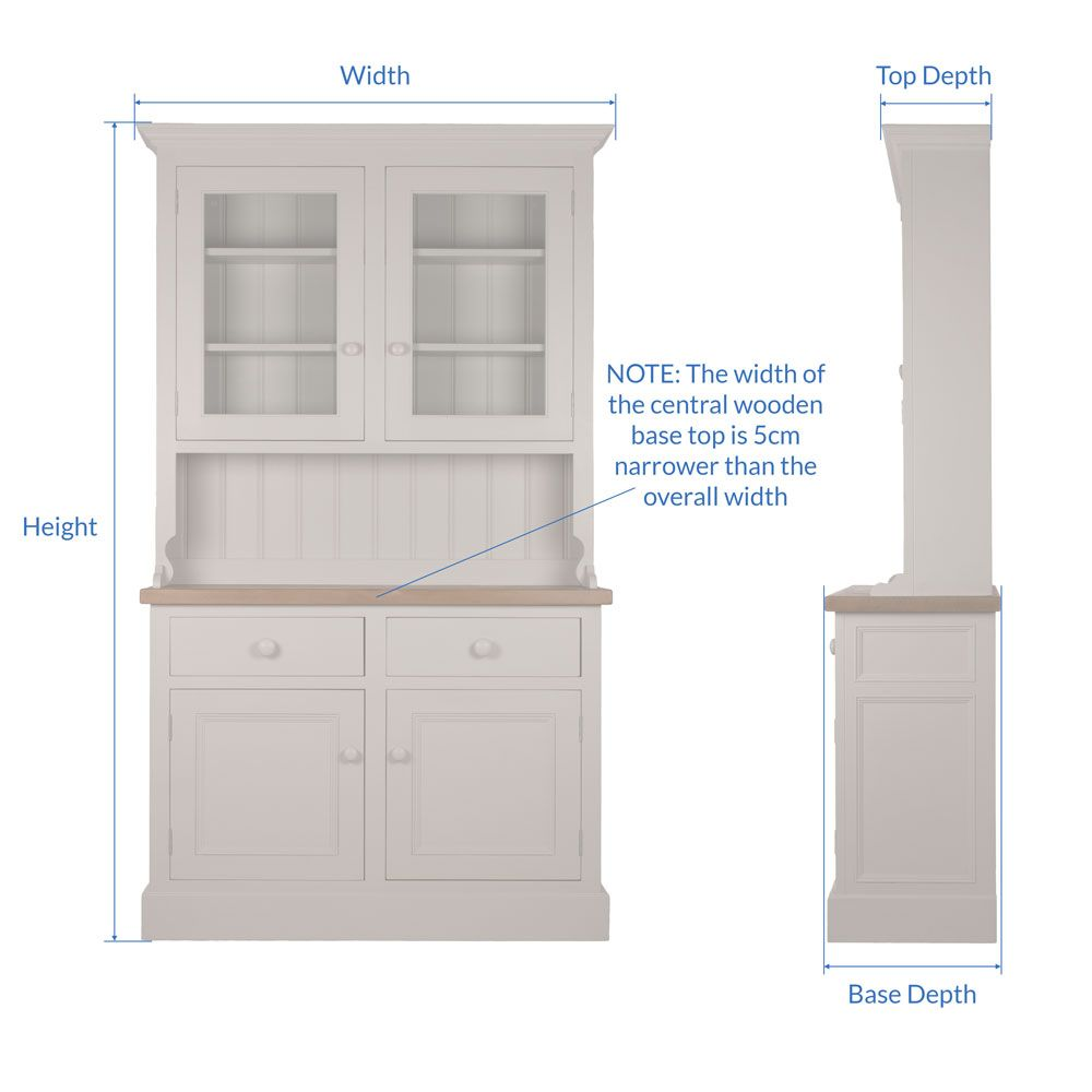 Welsh Double Dresser Glazed Top Dimensions Kitchen Ideas Pinterest And