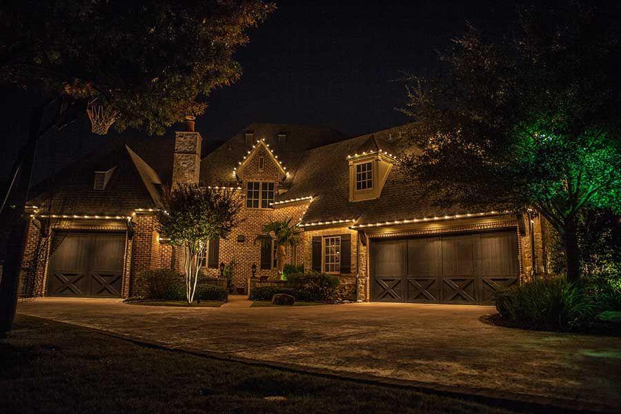 Outdoor Landscape Lighting Dallas Fort Worth Houston Outdoor Landscape Lighting Landscape Lighting Christmas Lighting