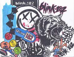 Blink-182 drawing | Blink-182 drawings | Blink 182 lyrics
