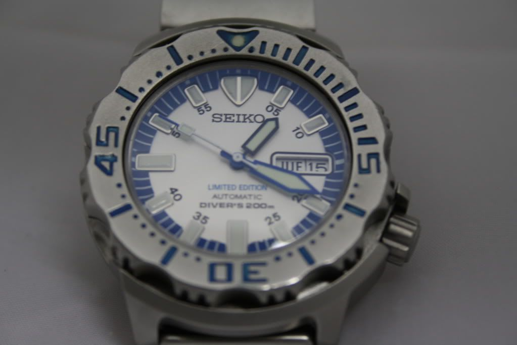 Review transformación Seiko Monster a Snow Monster HUM