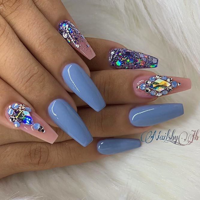 40+ Ideas Of Luxury Nails To Really Dazzle In 2020