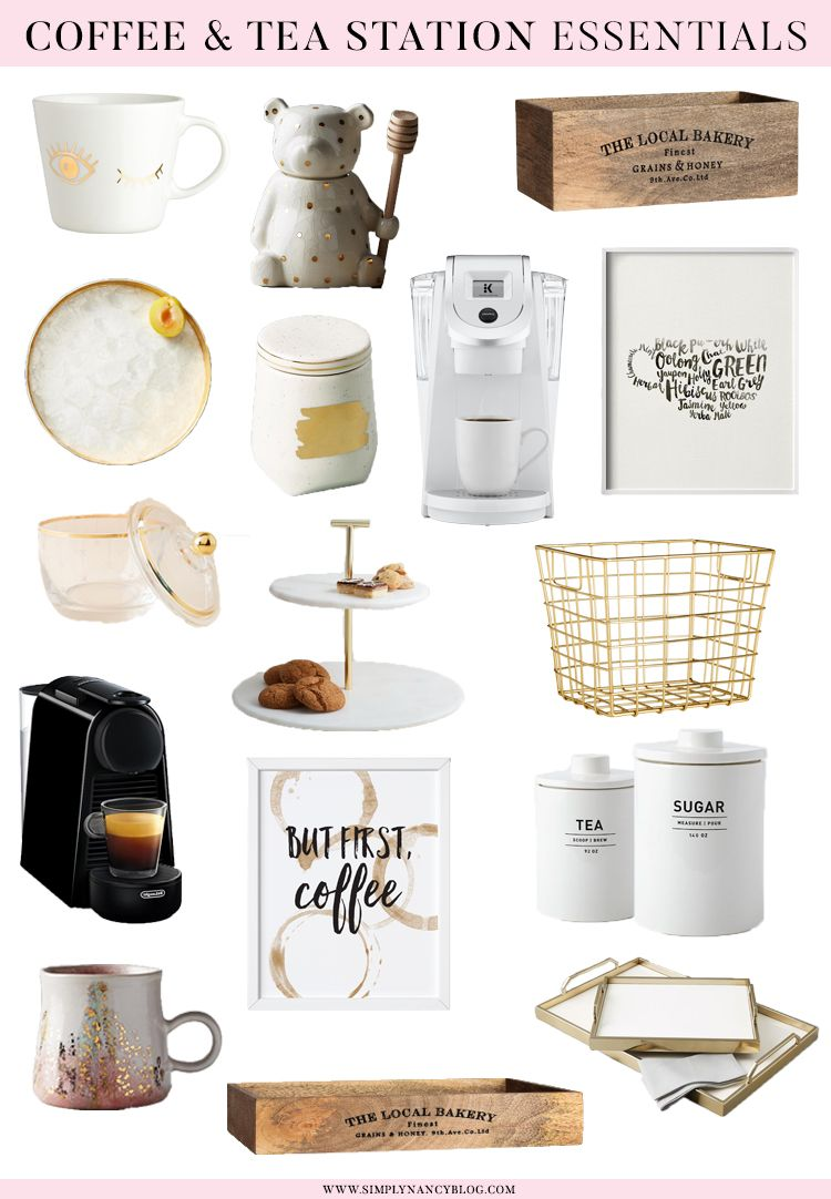 How to Setup a Coffee or Tea Station at Home in 2020