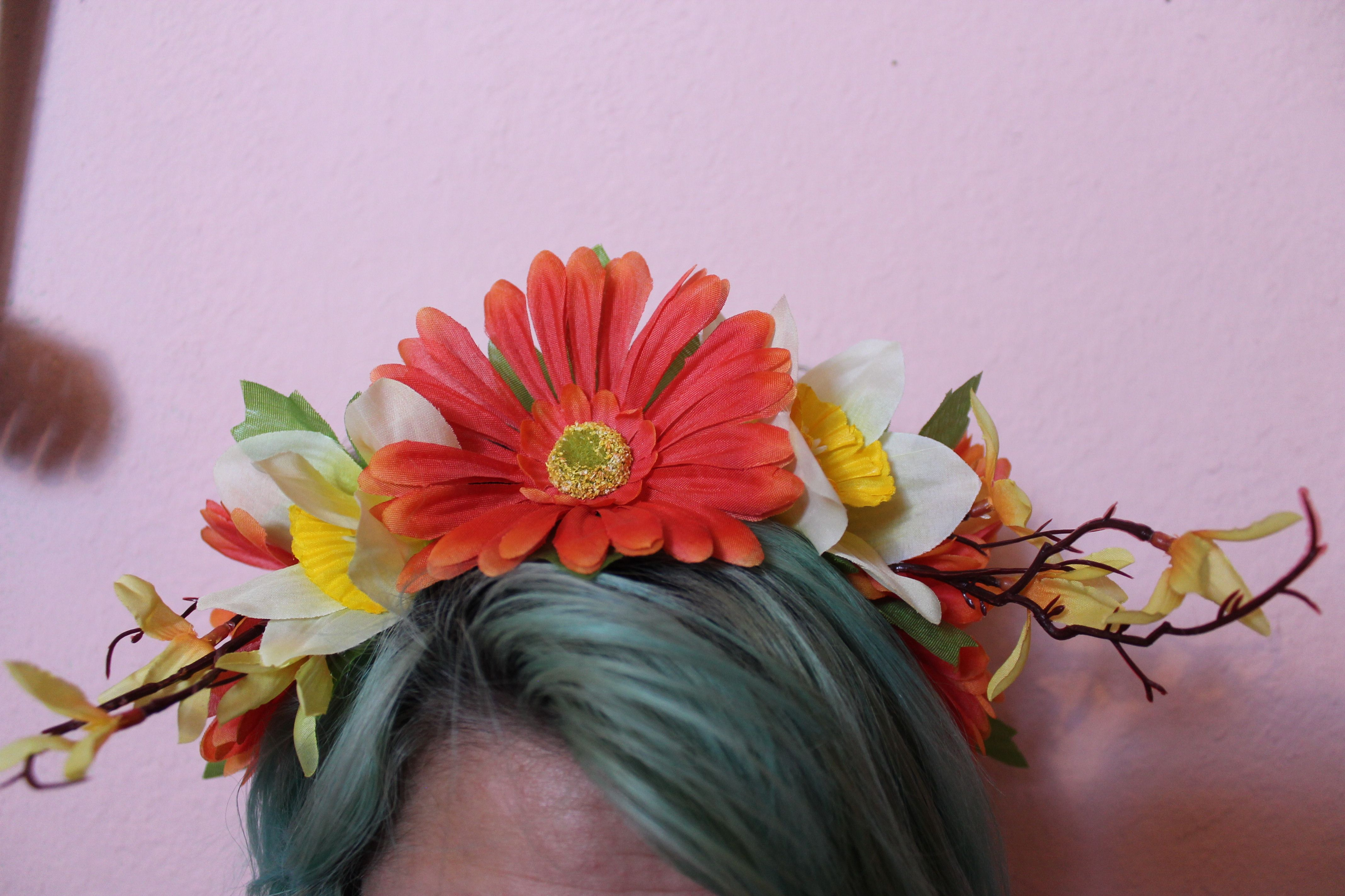 Fall Forest 15 Fall Autumn Headband Crown Fallheadband