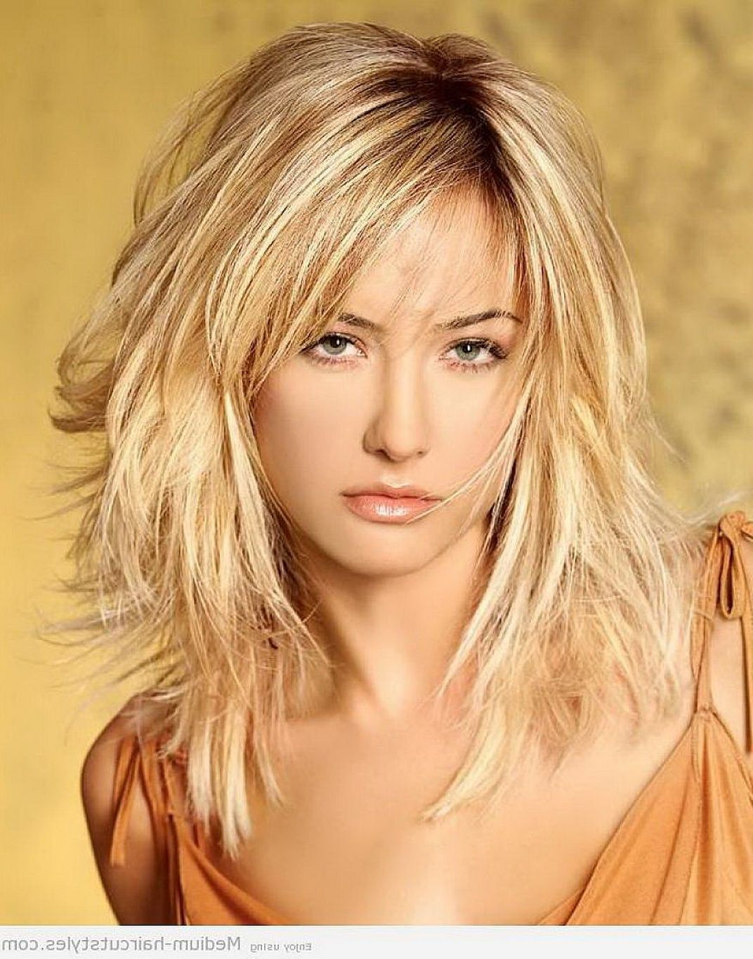 Bangs for wavy hair and oval face archives women medium haircut - Wanna Give Your Hair A New Look Medium Length Layered Hairstyles Is A Good Choice For You Here You Will Find Some Super Sexy Medium Length Layered