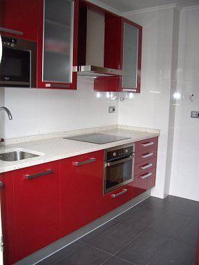Cocina Roja Kitchen Red Cocinas Remodelacion De Cocinas Cocina