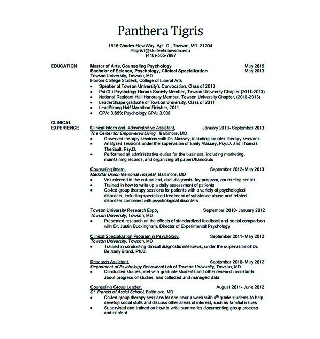 awesome Best Data Scientist Resume Sample to Get a Job, resume - resume template for graduate students