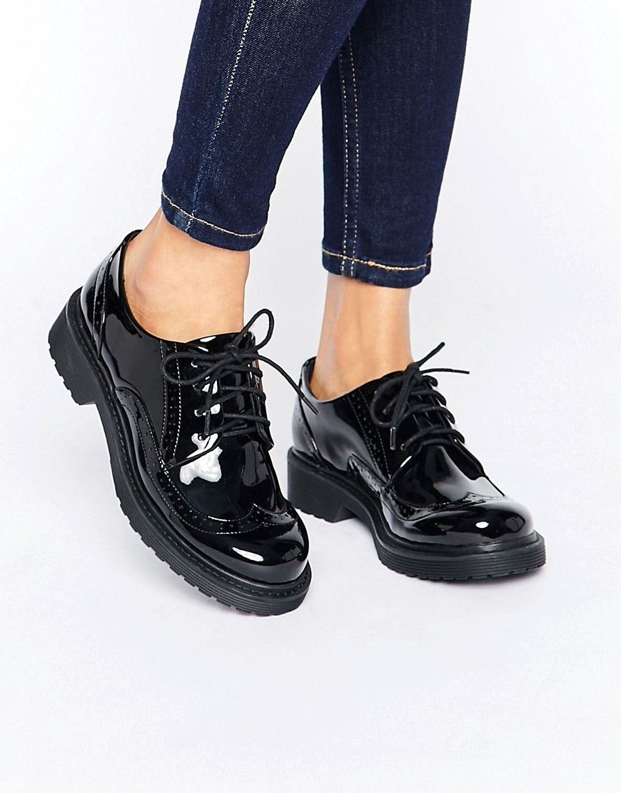 Monki Patent Brogues | Oxford shoes