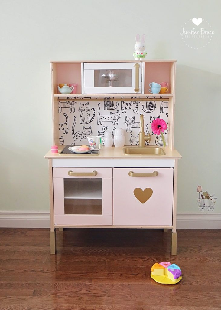 Our Own DIY Ikea Hack – Duktig Play Kitchen » Jennifer Bruce Photography