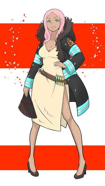 Fire Force Hibana 4k 3840x2160 Wallpaper Anime Characters Anime Character Design