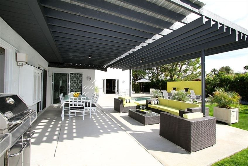 Lounge Covered, outdoor living & dining area. Multiple