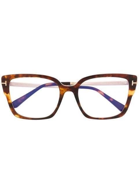 Eyeglass For Women Brown Glasses 2020 New Arrival Blue Light Glasses Clear Frame Small Oval Glasses In 2020 Eyeglasses For Women Tom Ford Eyewear Clear Glasses Frames