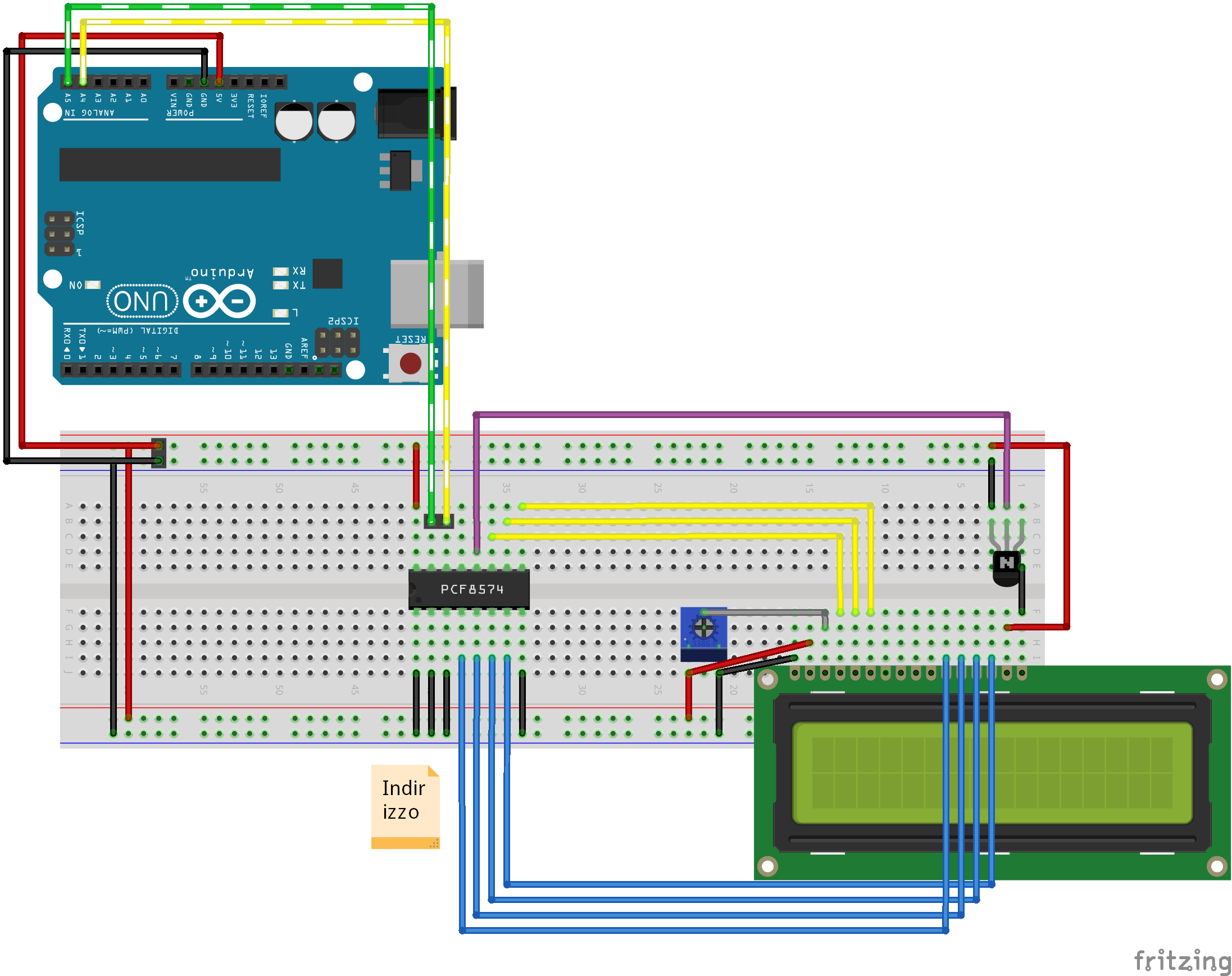 Arduino Character Lcd I2c 2 Wire Connection With Pcf8574 Library Lcd Arduino Microcontrollers