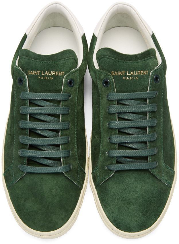 Saint Laurent Suede Court Classic Sneakers Cheap Sale From China Cheap Huge Surprise 0VIjy