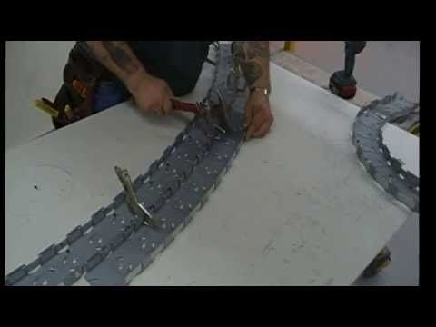Metal Stud Radius Dome Framing - YouTube placo Pinterest - fabriquer meuble en placo