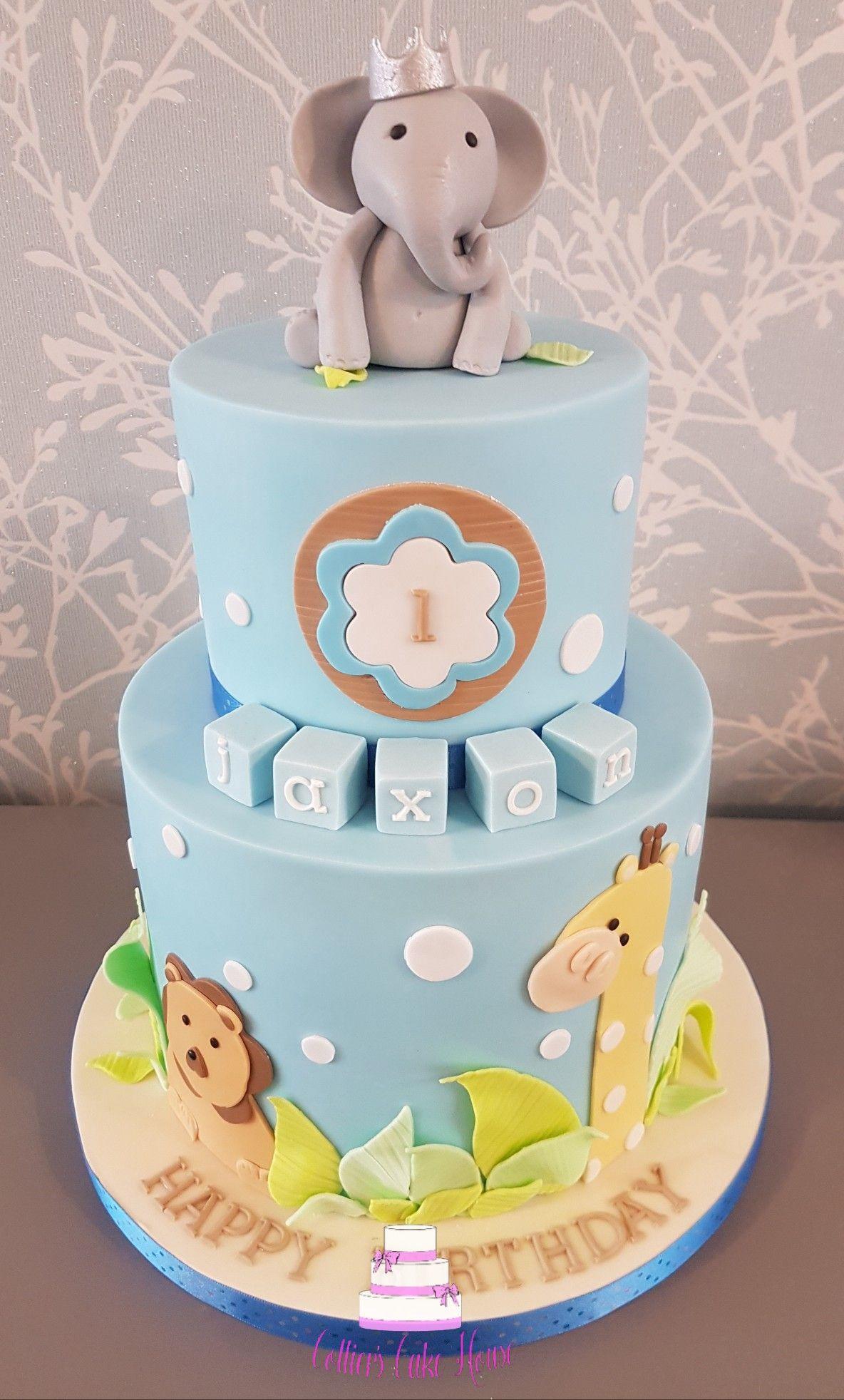 2 tier first birthday cake cake first birthday cakes