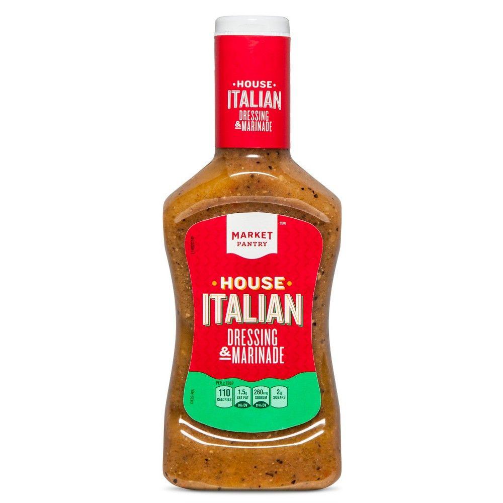 House Italian Dressing 16 oz - Market Pantry