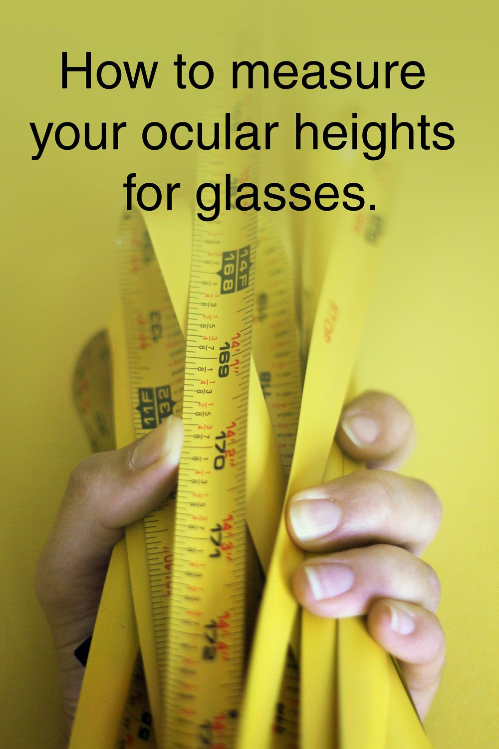 How to measure your ocular height How to measure