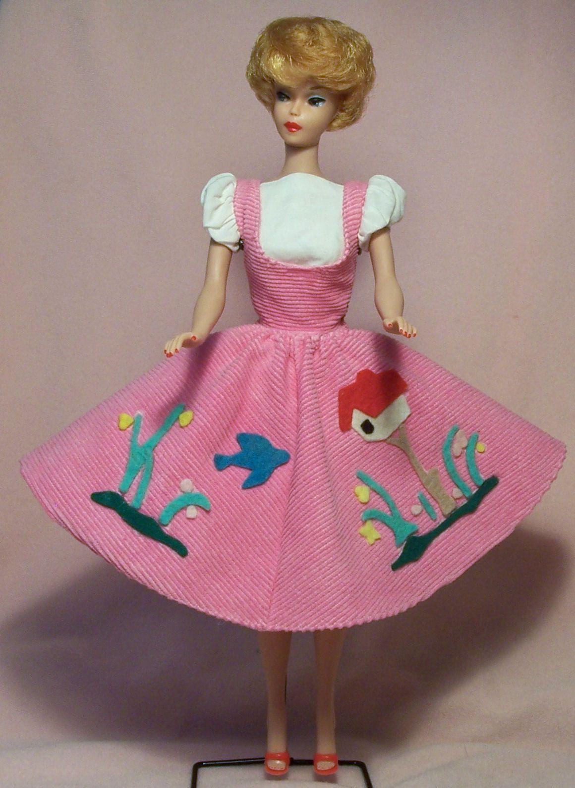 Vintage Barbie Ooak Friday Nite Date Jumper In Barbie Pink Vhtf Tm Version Ebay Vintage Barbie Vintage Barbie Clothes Barbie