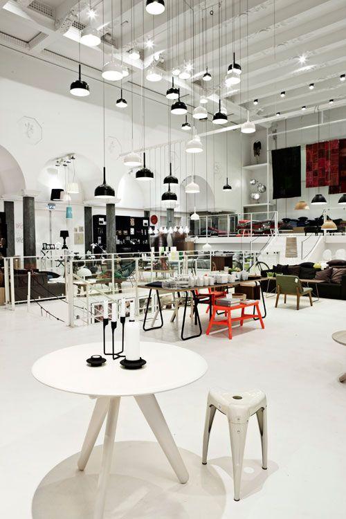Normann Copenhagen Flagship Store Denmark Scandinavian Furniture Design Copenhagen Design Shop Interior Design