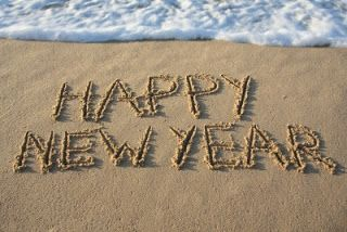 Wish I was on a beach to ring in New Years