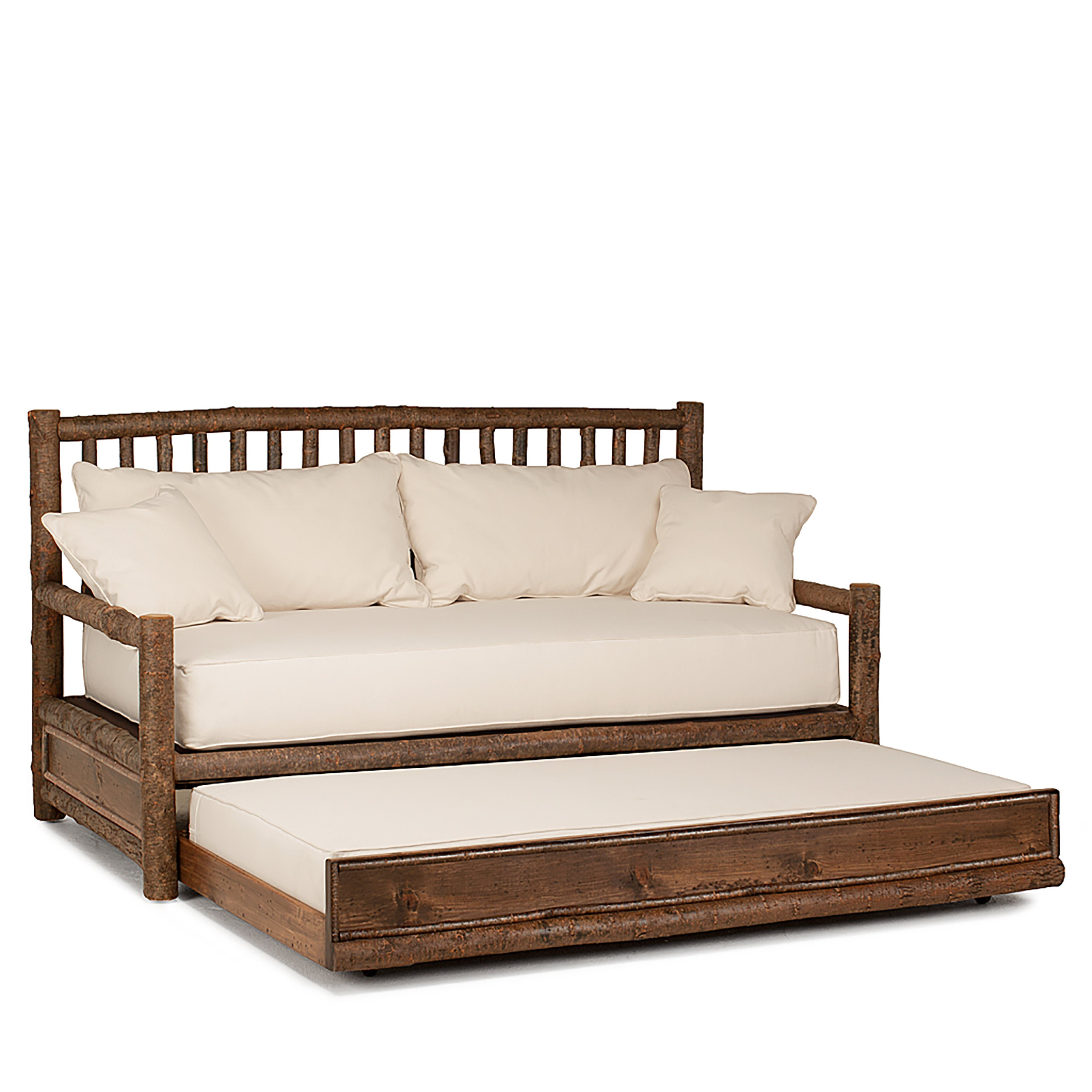 Rustic Trundle Daybed 4036 Rustic Bedroom Furniture Daybed