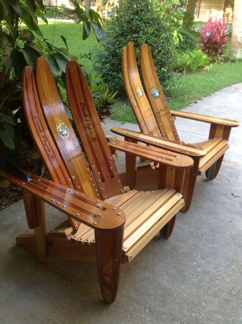 Ski Daddle Water Ski Outdoor Furniture Recycled Water