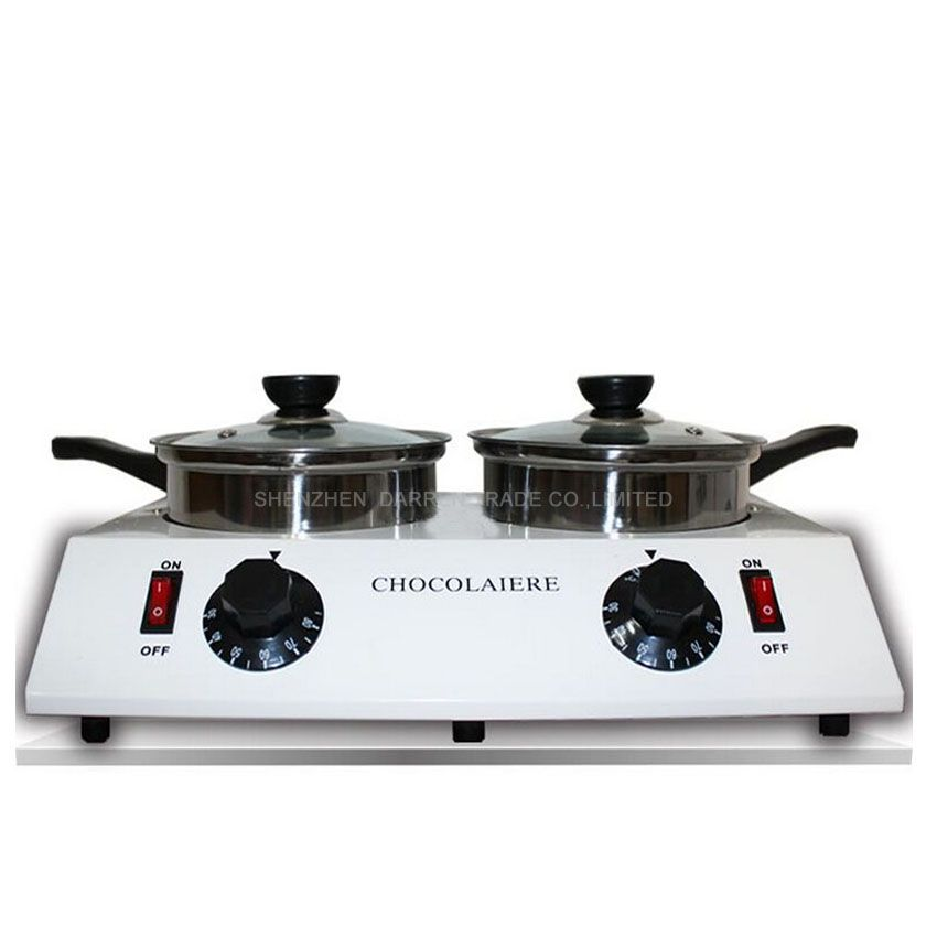 1PC Home Use 2 Pot Chocolate Melting Pot Melt machine //Price: $US $83.00 & FREE Shipping //     #clknetwork