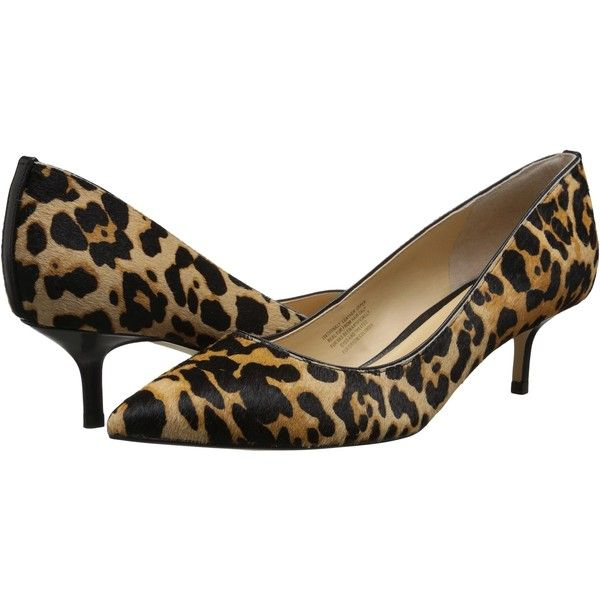 Ivanka Trump Athynaly (Leopard Print) High Heels ($85) ❤ liked on Polyvore