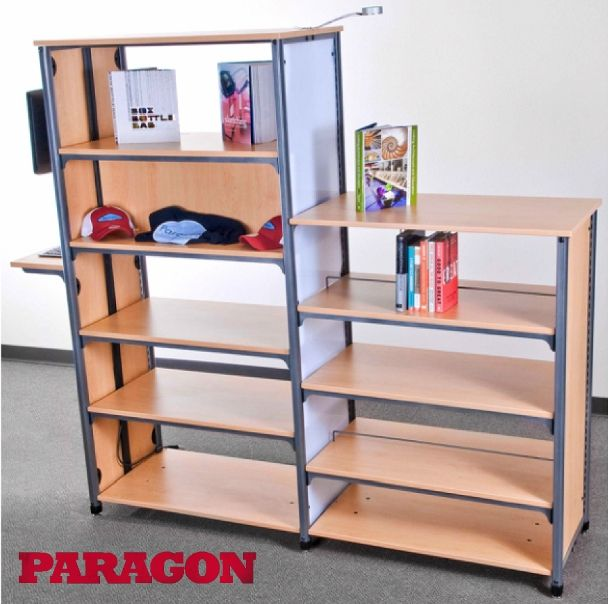 New Library Shelving Information Commons Paragon Furniture