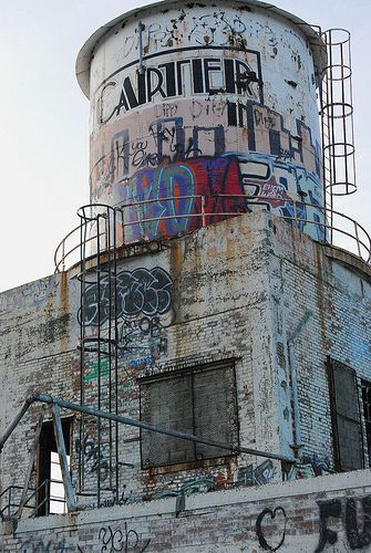 water tower - Detroit