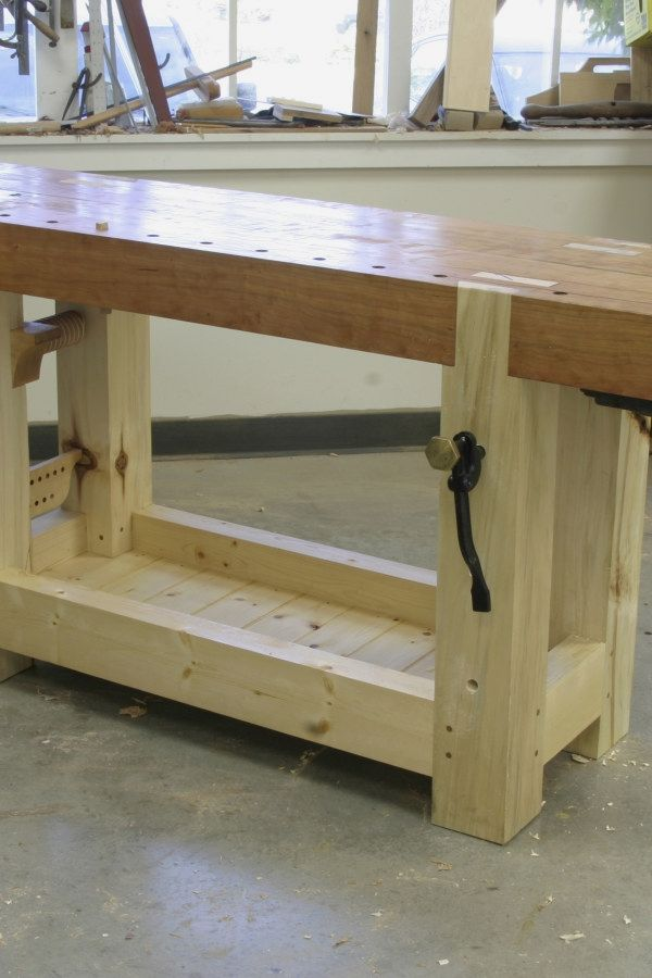 Woodworking Bench Plans Design No 13618 Smart Woodworking Bench