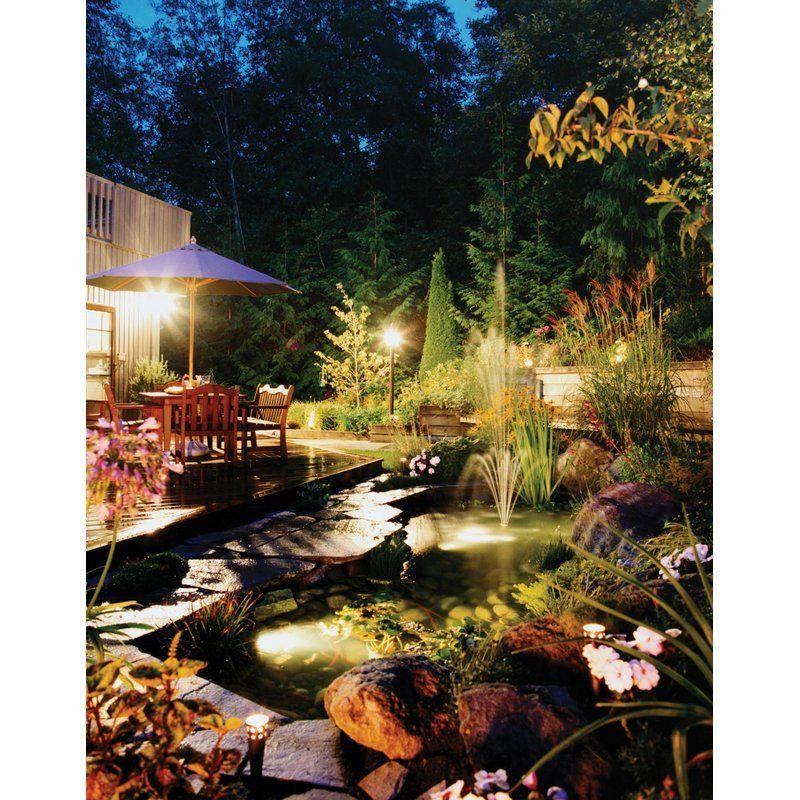 10 Diy Garden Ideas For Using Old Pallets: You'll Love The Security 2-Light SpotLight At Wayfair
