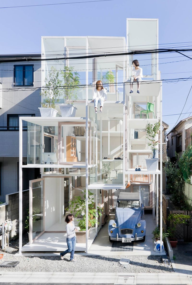 Japanese House With No Real Rooms Or Floors Is Equal Parts Scary And  Awesome (Apartment Therapy Main)