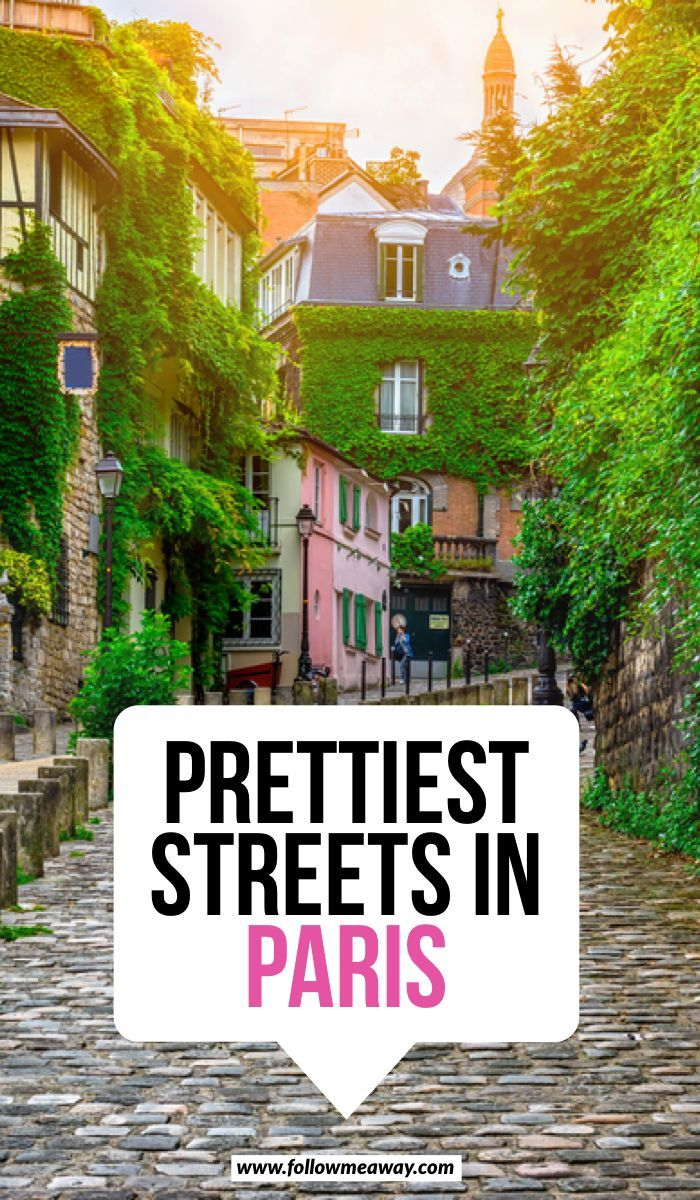 10 Of The Most Charming Streets In Paris + Map To Find Them