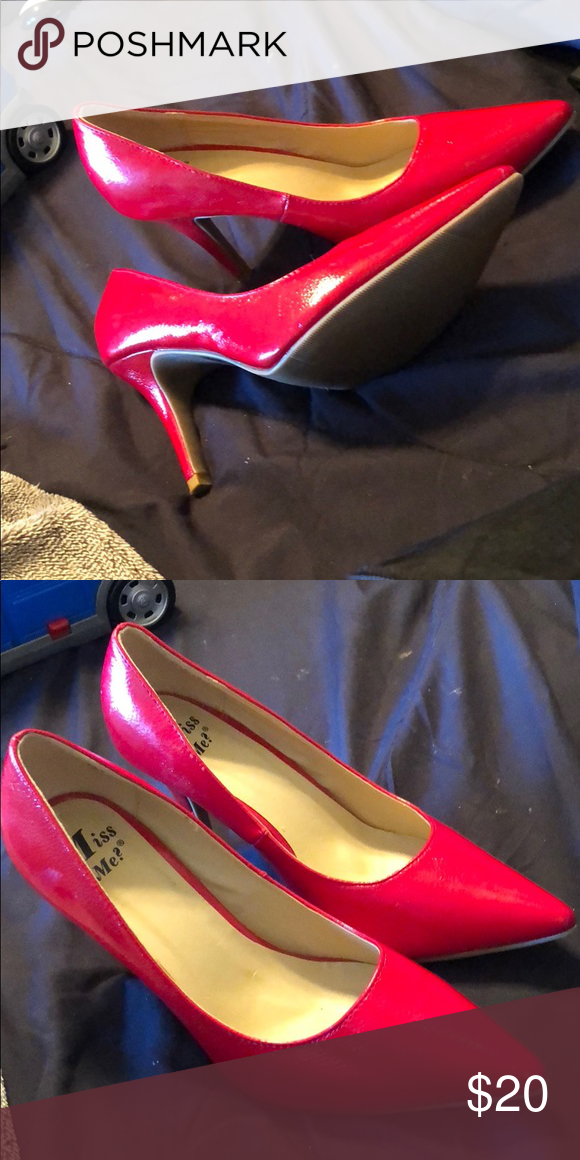 dc7639d28c Spotted while shopping on Poshmark: Sexy red pumps! #poshmark #fashion  #shopping #style #Shoes