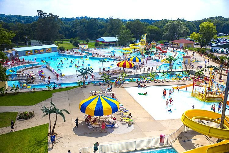Beech Bend Family Campground Adjacent Water Park By Lost River Cave And Mammoth National Kentucky